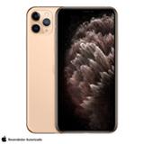 """iPhone 11 Pro Max Dourado, com Tela de 6,5"""", 4G, 256 GB e Câmera de 12 MP - MWHL2BZ/A"""