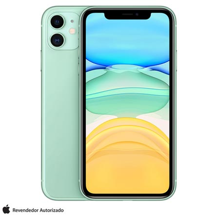 Celular Smartphone Apple iPhone 11 128gb Verde - 1 Chip