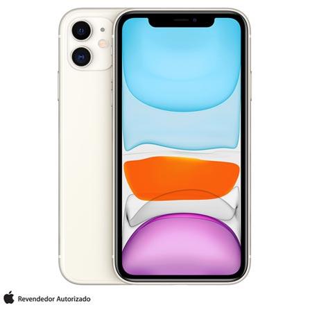 Celular Smartphone Apple iPhone 11 256gb Branco - 1 Chip