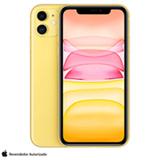 iPhone 11 Amarelo, com Tela de 6,1', 4G, 256 GB e Câmera 12 MP - MWMA2BR/A