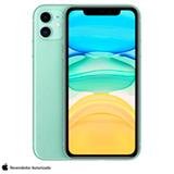 """iPhone 11 Verde, com Tela de 6,1"""", 4G, 256 GB e Câmera de 12 MP - MWMD2BR/A"""