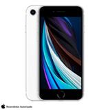 iPhone SE Branco, com Tela de 4,7', 4G, 128 GB e Câmera de 12 MP - MXD12BZ/A