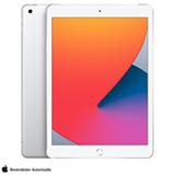 """iPad 8°  Geração Prateado com Tela de 10,2"""", 4G, 32 GB e Processador A12 Bionic - MYMJ2BZ/A"""