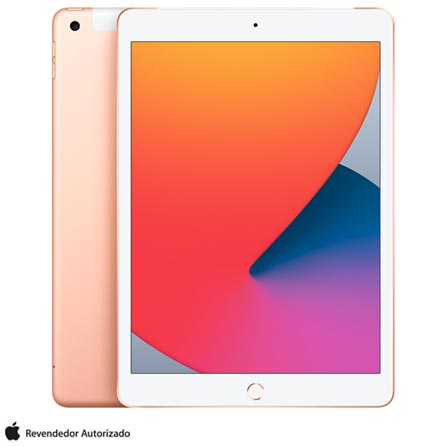 Tablet Apple Ipad 8 Mymn2bz/a Dourado 128gb 4g