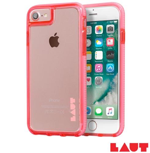 Capa Protetora Fluro para iPhone 7 Rosa - Laut - IP7_FR_P, Rosa, Capas e Protetores, 03 meses