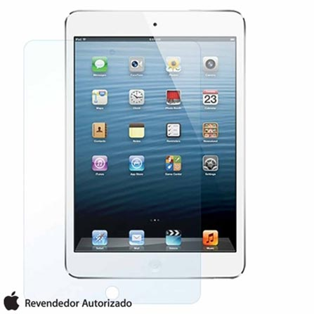 iPad Mini 32GB Apple Preto Wi-Fi MD529BZ/A + Película iPad Mini/Retina Transparente Yogo, Wi-Fi, 0