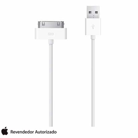 Cabo de 30 pinos para iPhone, iPad e iPod Branco - Apple - MA591BZC, Branco, 12 meses