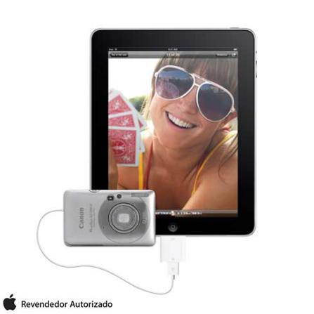 Kit de Conexão de Câmera para iPad 1, 2 e 3 Branco - Apple - MC531BZA, Branco