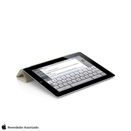 Capa Smart Cover Creme para iPad 2, 3 e 4 Apple, Bege