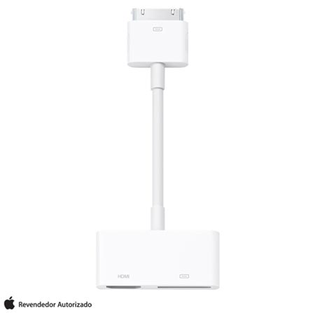 Adaptador de AV Digital para cabo de 30 Pinos Branco - Apple - MD098BEA, Branco