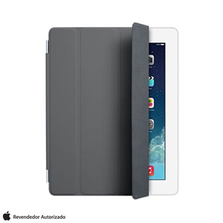 Capa Smart Cover Frontal para iPad 2, 3 e 4, Cinza