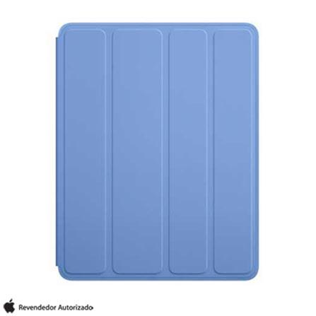 Capa Smart Case de Poliuretano Azul para iPad, Azul