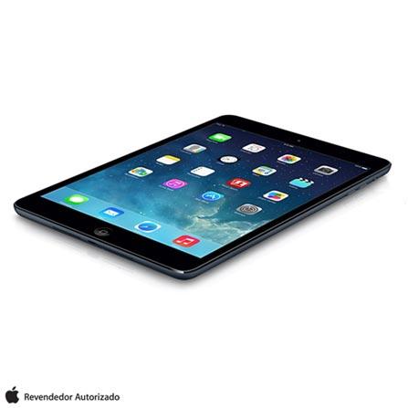 iPad Mini Retina Preto e Cinza com Processador A7, Display de 7.9, Câmera de 5MP, 32GB de Memória, iOS 7 e Wi-Fi, Bivolt, Bivolt, Preto e Cinza, 0000007.90, 000032, 1, N, APPLE, 000312, A7, iOS, 0000008.00, 5.0 MP, 32 GB, Wi-Fi, 12 meses, Não, Sim, A7, Não, iOS, Até 10'', 7.9'', Não
