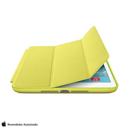 Capa Smart Case para iPad Mini em Poliuretano Amarela - Apple - ME708BZ, Amarelo