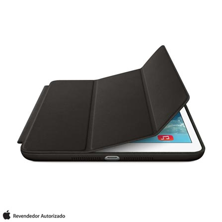 Capa para iPad Mini Smart Case Preta Apple ME710BZ, Preto