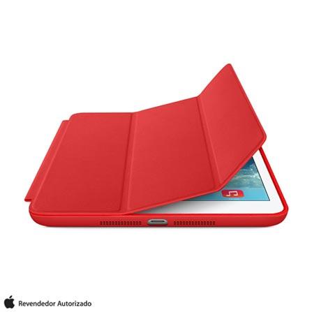 Capa Smart Case para iPad Mini em Poliuretano e Microfibra Vermelha - Apple - ME711BZ, Vermelho