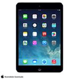 iPad Mini Retina Preto e Cinza com 7,9', 4G, iOS 7, Processador A7 e 32 GB