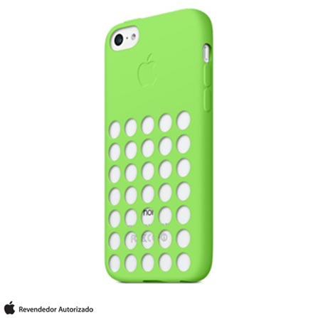 Capa para iPhone 5c em Policarbonato Verde - Apple - MF037BZ/A, Verde, Capas e Protetores, 03 meses