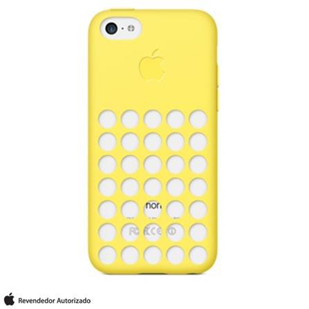 Capa Apple Para iPhone 5c, Amarelo MF038BZ/A, Amarelo, Capas e Protetores, 03 meses