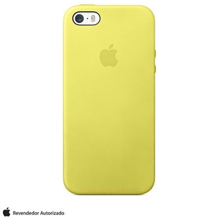 Capa para iPhone 5s Amarela - Apple - MF043BZ/A, Amarelo, Capas e Protetores, 03 meses