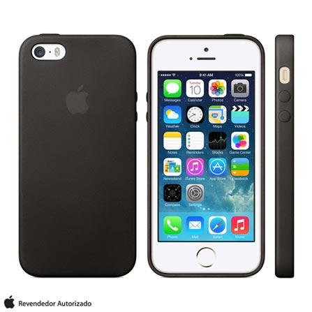 Capa para iPhone 5s e SE Preto - Apple - MF045BZ/A, Preto, Capas e Protetores, 03 meses