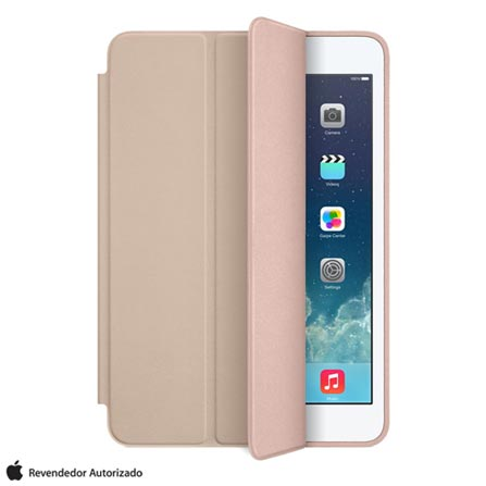 Capa para iPad Air Smart Case Couro Bege -  Apple -  MF048BZ/A, Bege