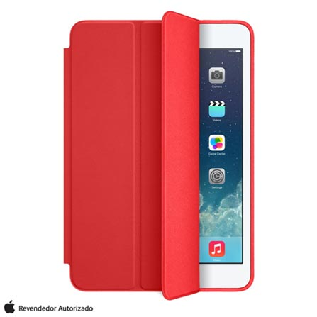 Capa Smart Case para iPad Air em Couro Vermelha - Apple - MF052BZ/A, Vermelho