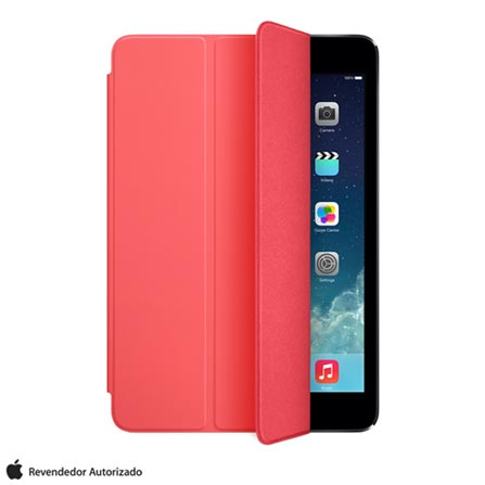 Capa para iPad Air e iPad Air 2 Smart Cover Poliuretano e Microfibra Pink - Apple - MF055BZ, Pink