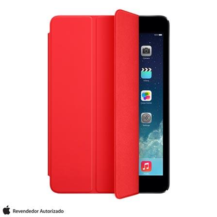 Capa Smart Cover para iPad Air em Poliuretano e Microfibra Vermelho - Apple - MF058BZ, Vermelho