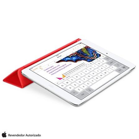 Capa Smart Cover para iPad Air e iPad Air 2 em Poliuretano e Microfibra Vermelho - Apple - MF058BZ, Vermelho
