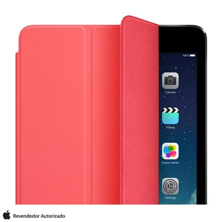 Capa para iPad Mini Smart Cover em Poliuretano e Microfibra Pink - Apple - MF061BZ/A, Pink