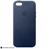 Capa para iPhone SE em Couro Azul Meia Noite - Apple - MMHG2BZ/A