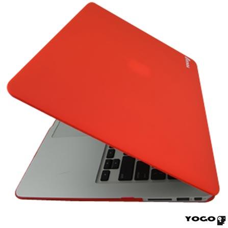 Capa Rigida Protetora para Macbook Air 11'' Vermelha Yogo - YG11AIRRED, Vermelho