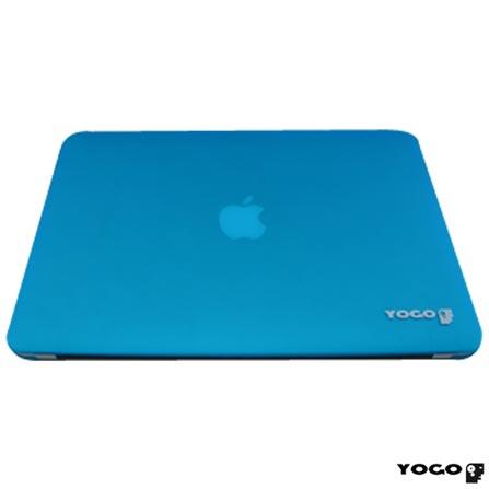 Capa Rigida Protetora para Macbook Air 13'' Azul Yogo - YG13AIRBLUE, Azul