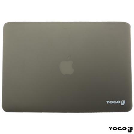 Capa Rigida para Macbook Pro Retina 13'' Cinza Yogo - 13RETGREY, Cinza