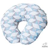 Almofada de Amamentacao Rabisco Mosaico Azul - Pessoinha