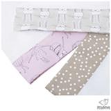 Kit de Fraldas Pessoinha Princesas Rosa e Taupe