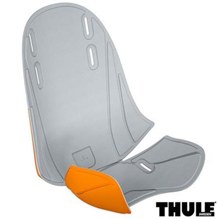 Acolchoamento Mini RideAlong Light Grey/Orange - Thule, Cinza e Laranja, Não, Não se aplica, Dianteira, Não especificado, 60 meses