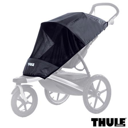 Rede de Proteção para os Carrinhos Infantis Preta - Thule, Preto, Nylon, Não se aplica, Não se aplica, 60 meses