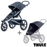 Carrinho de Bebe Urban Glide Preto - Thule - 10101902 + Rede de Protecao para Carrinho Infantil Preta - Thule - 20110715