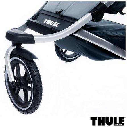 Carrinho de Bebe Urban Glide Preto - Thule - 10101902 + Rede de Protecao para Carrinho Infantil Preta - Thule - 20110715, 1