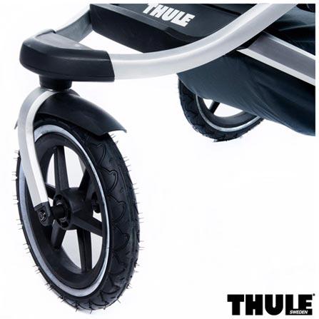 Carrinho de Bebe Urban Glide Vermelho - Thule - 10101904 + Capa de Chuva para Carrinho - Thule + Rede de Protecao Preta, 0