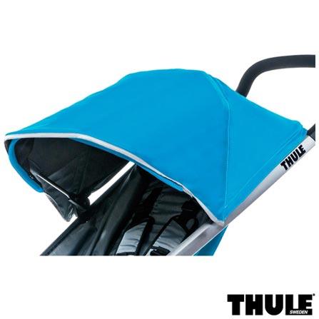 Carrinho de Bebe Urban Glide Azul - Thule - 10101905 + Rede de Protecao para Carrinho Infantil Preta - Thule - 20110715, 1