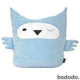 Boneco Coruja em Plush Azul - Bodobo