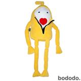 Boneco Kenny em Plush Amarelo - Bodobo
