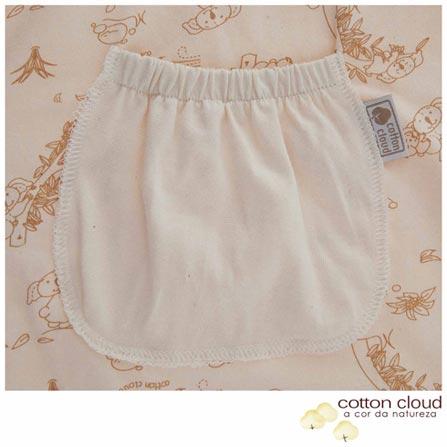 Saco de Dormir Coala Marrom - Cotton Cloud, Marrom, Algodão e Poliéster, 03 meses