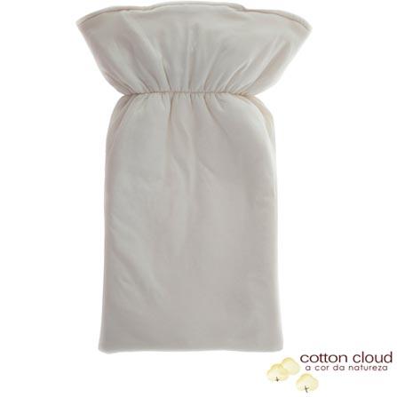 Porta Bebê Cotton Cloud Coala Marrom Natural, Bege e Marrom, Algodão e Poliéster, 03 meses