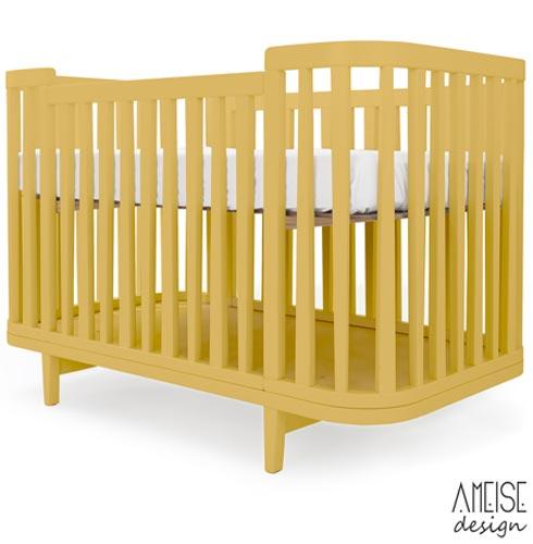 Berco Circus 2 Amarelo - Ameise Design, MDF, Tinta, 50 kg, Não, 12 meses, 15/09/2017