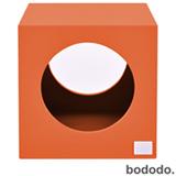 Banco Infantil Cubo Laranja - Bododo