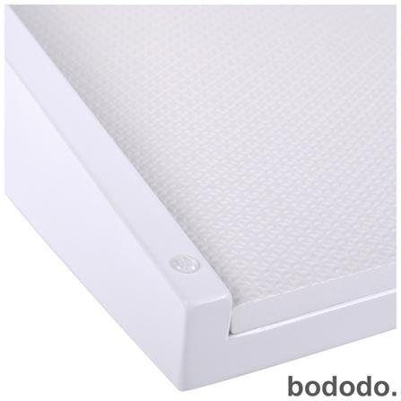 Trocador Bododo Rock Carré Dobrável Branco, Branco, MDF laqueado, 06 meses